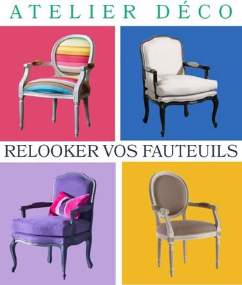 relooker vos fauteuils